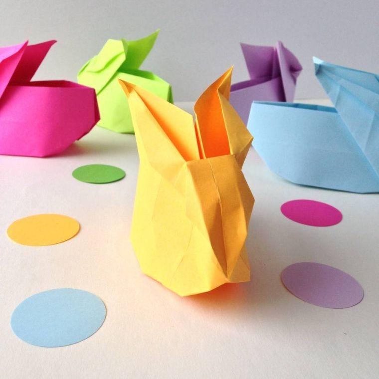origami brico decor paques