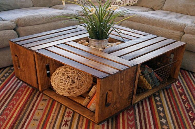 table basse diy salon bois fabriquer