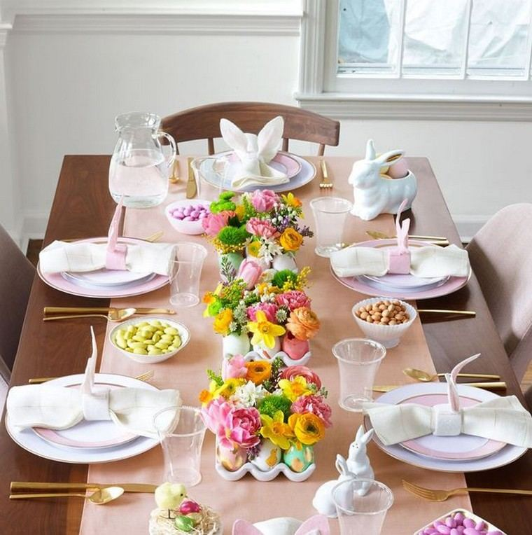 décoration de table pour pâques idées