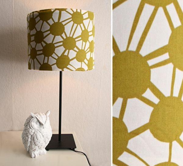 tissu formes geometriques decorer DIY