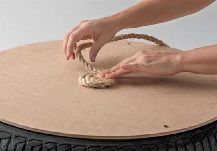 fabriquer-un-pouf-cordage-pneu-table-diy