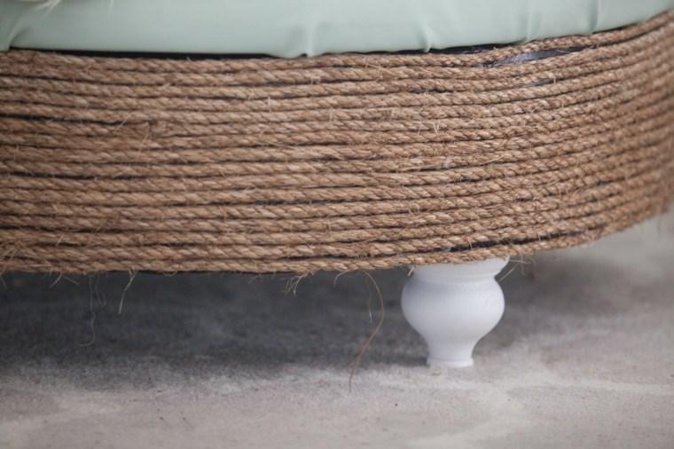 faire pouf pneu recup idée recycler matériaux tendance recuperer
