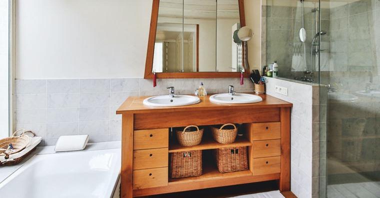 vanité salle de bain diy idée