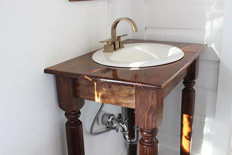 idée récup meuble en bois salle de bain
