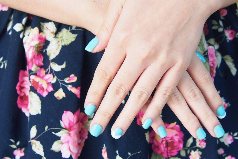 vernis à ongles DIY à la maison