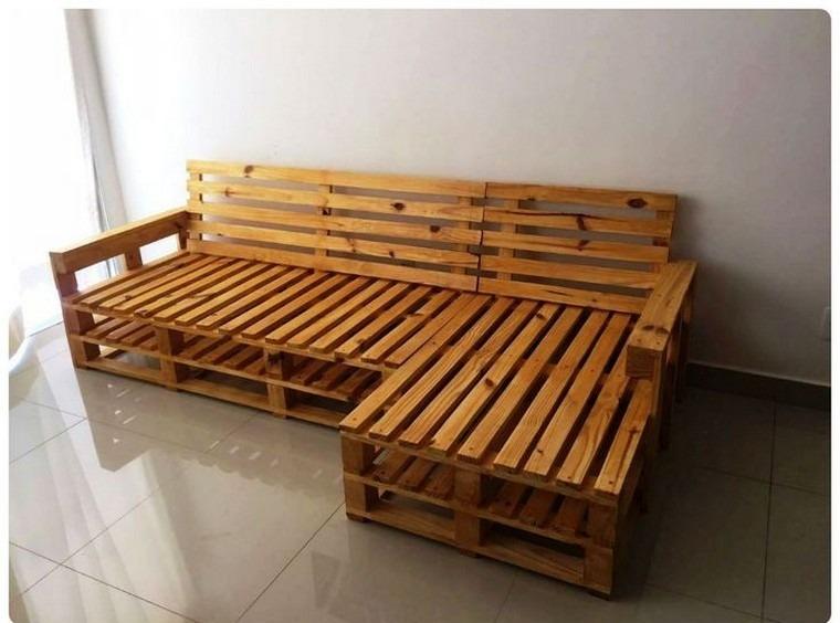 pinterest diy canapé palette bois