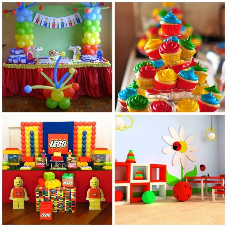 couleur primaire déco anniversaire enfants