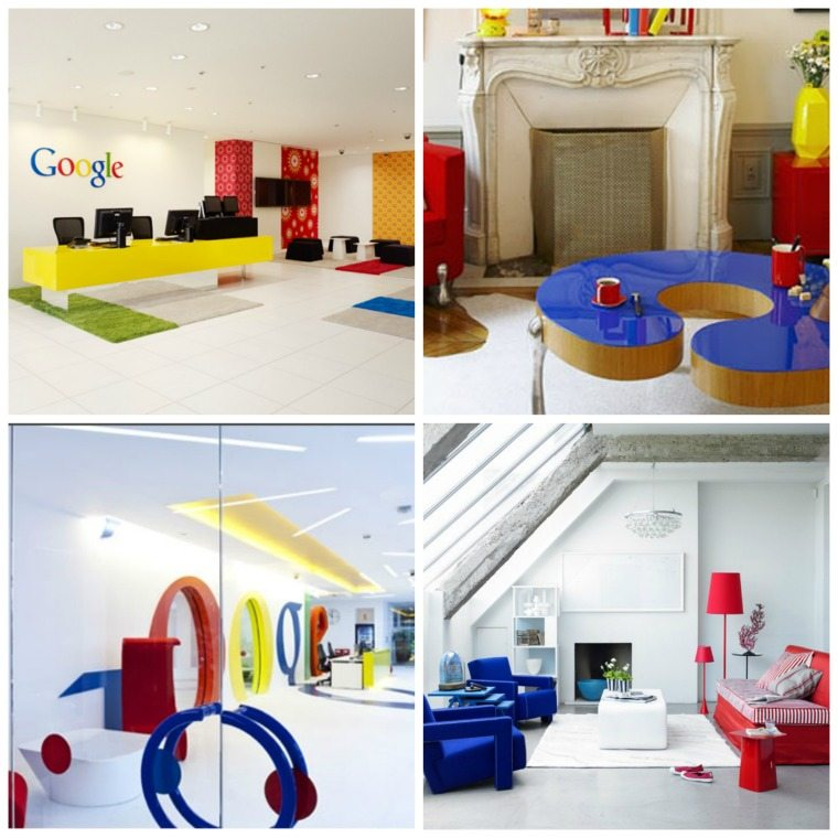 couleur primaire intérieur bureau google japon