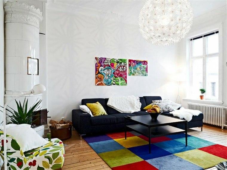 couleur primaire tapis fauteuil vert blanc cerises