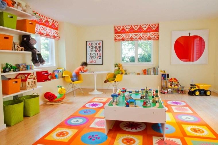 couleurs primaires chambre enfant vaste gaie
