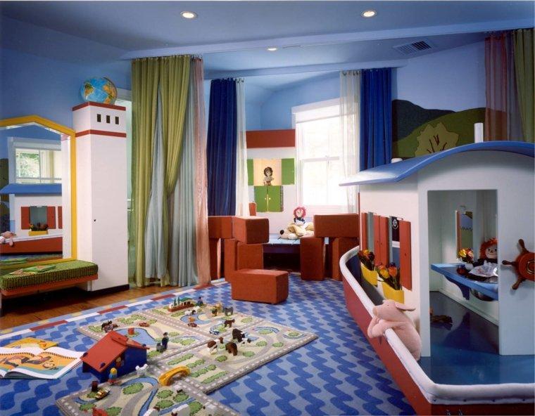 couleurs primaires chambre pour enfant vaste originale