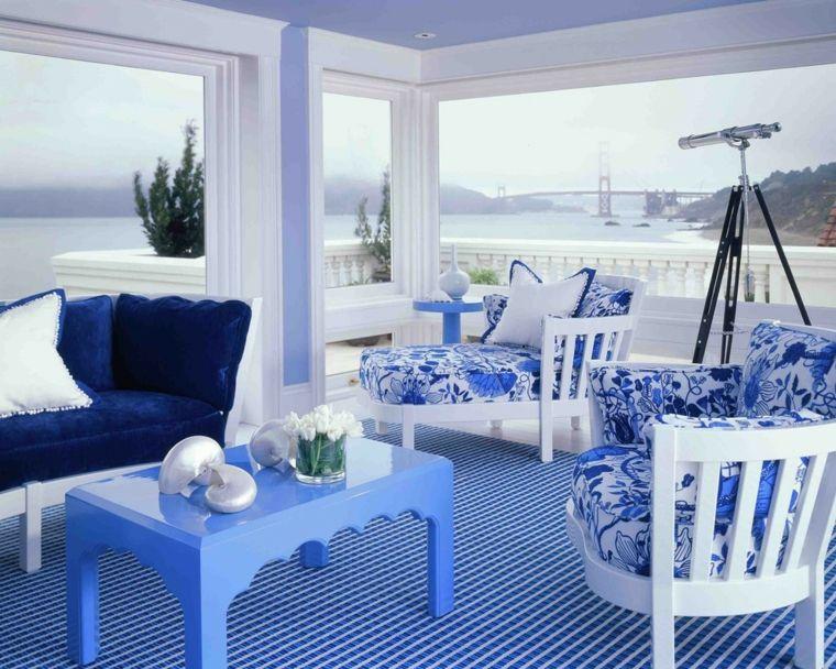 diy déco couleur primaire bleue maison