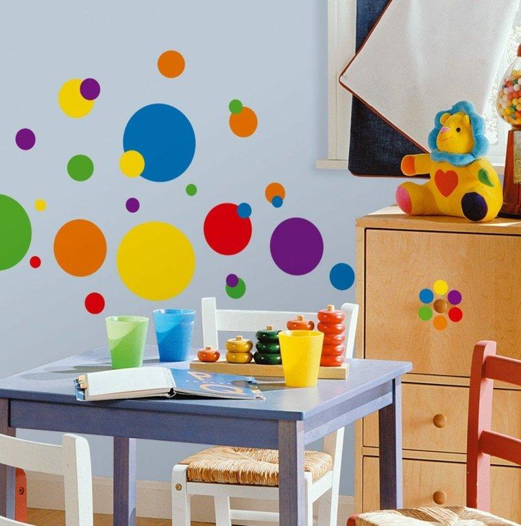 diy déco couleurs primaires chambre enfant