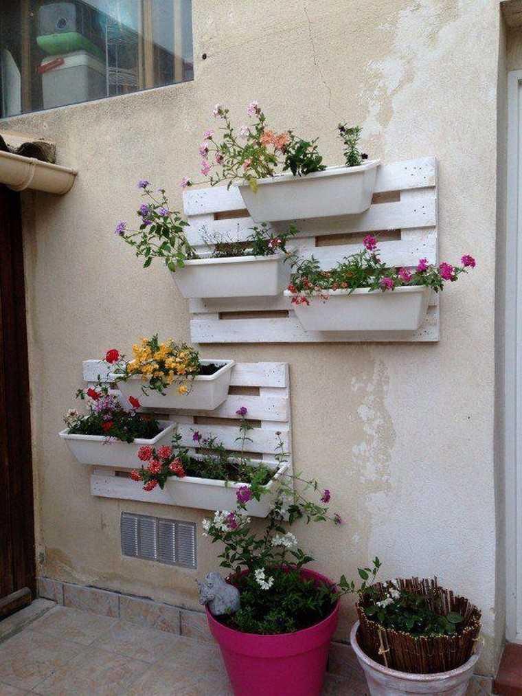 mur-palette-diy-etagere-pot