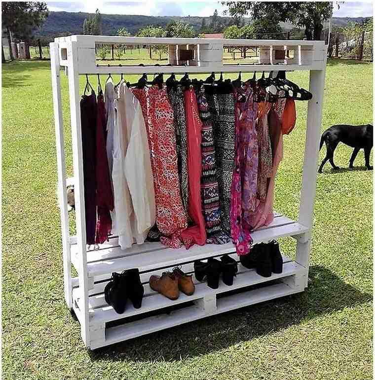pallets-cloths-hanger-cum-shoe-rack