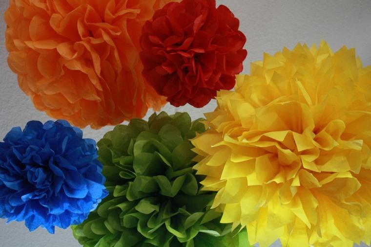 quelles sont les couleurs primaires fleurs papier