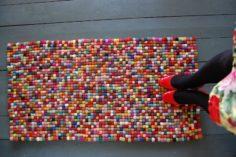 11 idées et exemples pour un tapis DIY magnifique