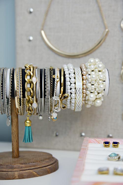 ranger des bijoux diy
