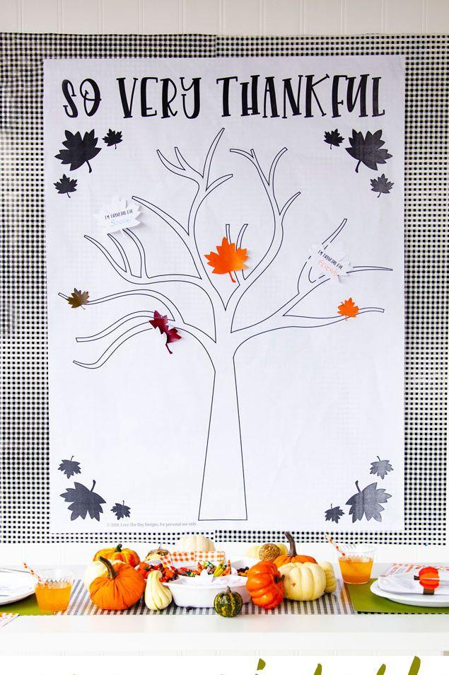 Affiche imprimable de l'arbre de la reconnaissance