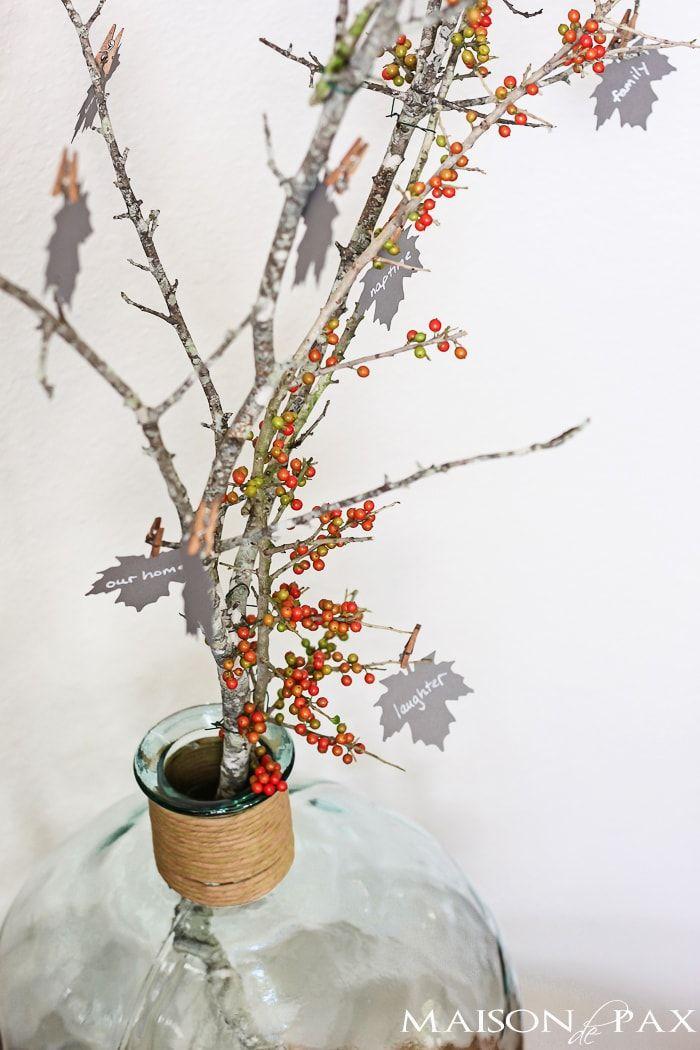 Branche de baies de l'arbre de la reconnaissance
