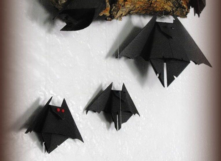 Chauves-souris origami