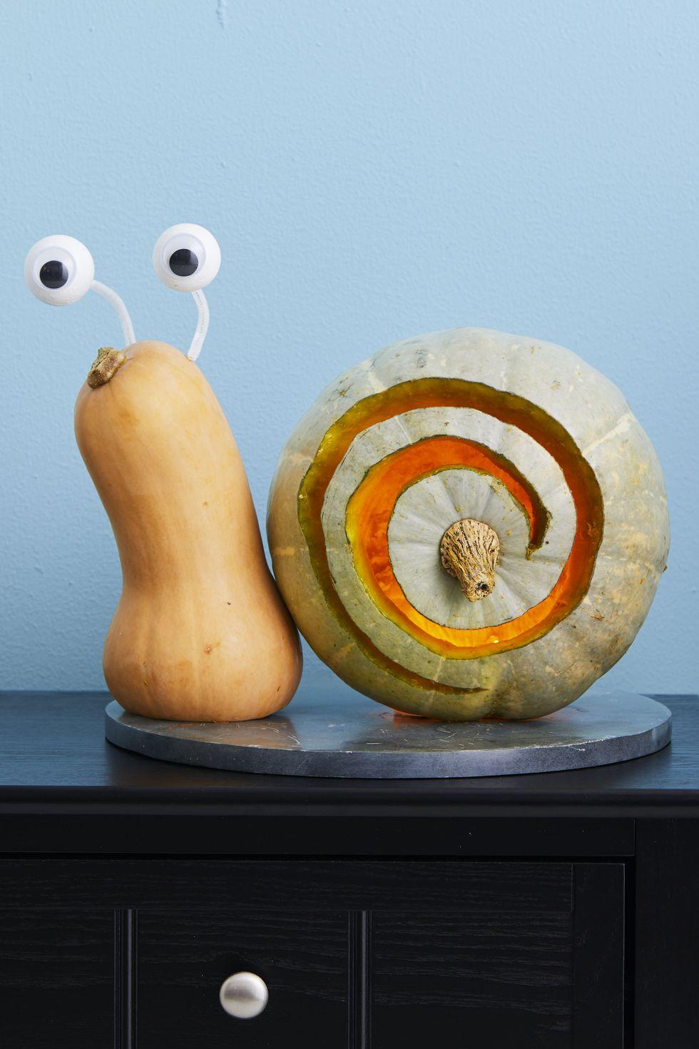 Escargot d'Halloween