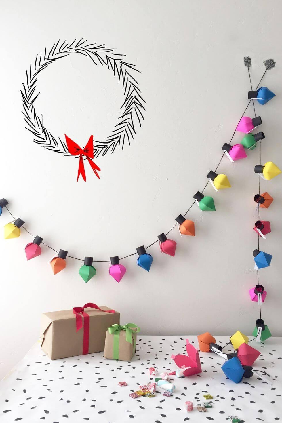 Calendrier de l'Avent des Lumières de Noël