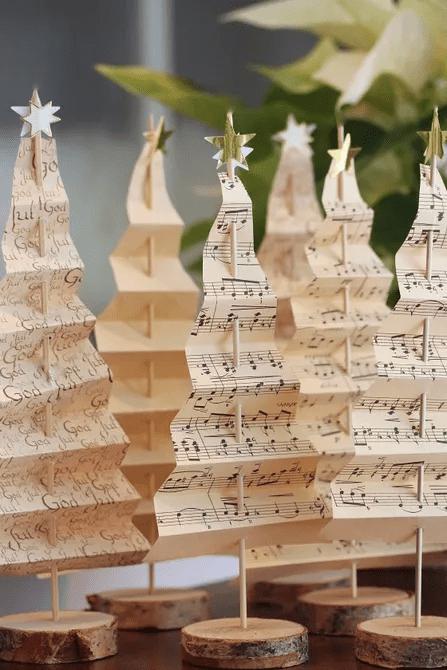 Arbres de Noël musicaux