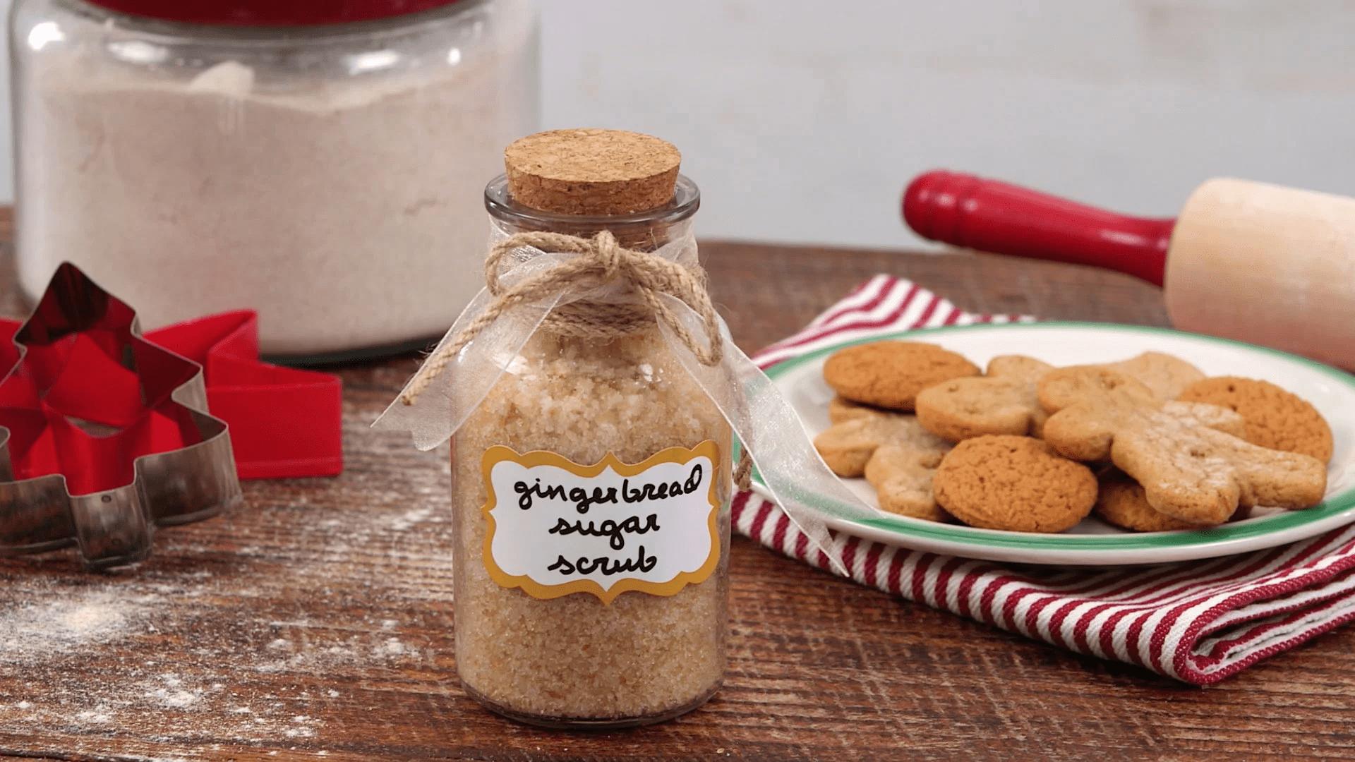 Gommage au pain d'épices et au sucre