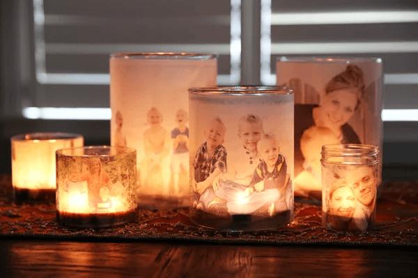 Luminaires de la photo de famille