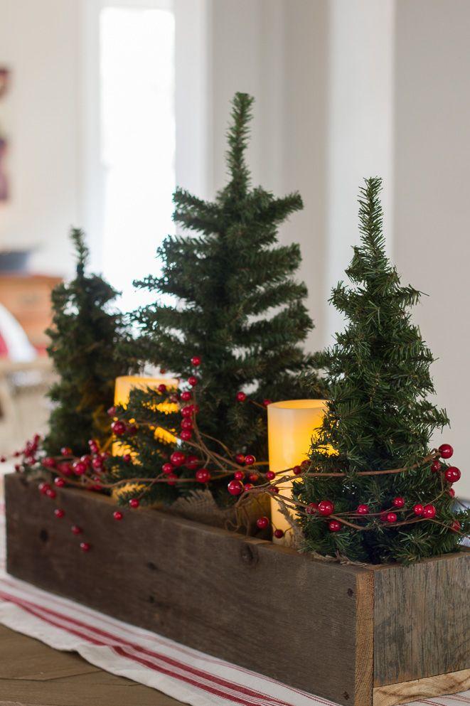 Mini arbres de Noël