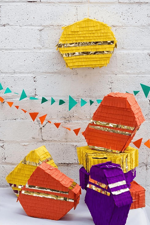 Piñatas géométriques