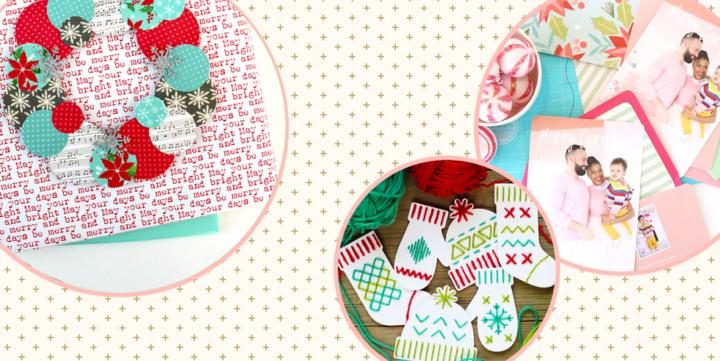42 meilleures idées de cartes de Noël faites à la main pour vos vœux de Noël cette année