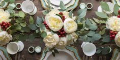 30 idées de mise en table élégante pour Noël