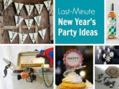 40 DIY pour organiser la meilleure fête du Nouvel An