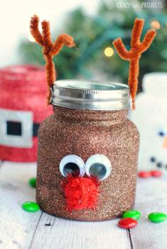 Bocaux de Noël DIY – Bocaux mignons pour les enfants