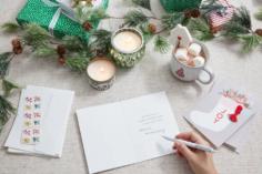 Cartes de vœux et salutations pour les cartes de Noël