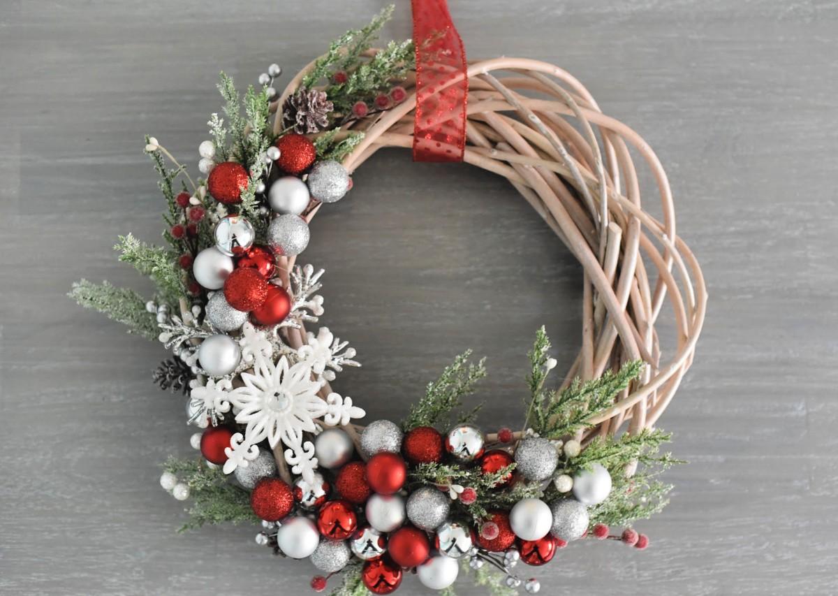 Porte de Noël - Couronne - Idées