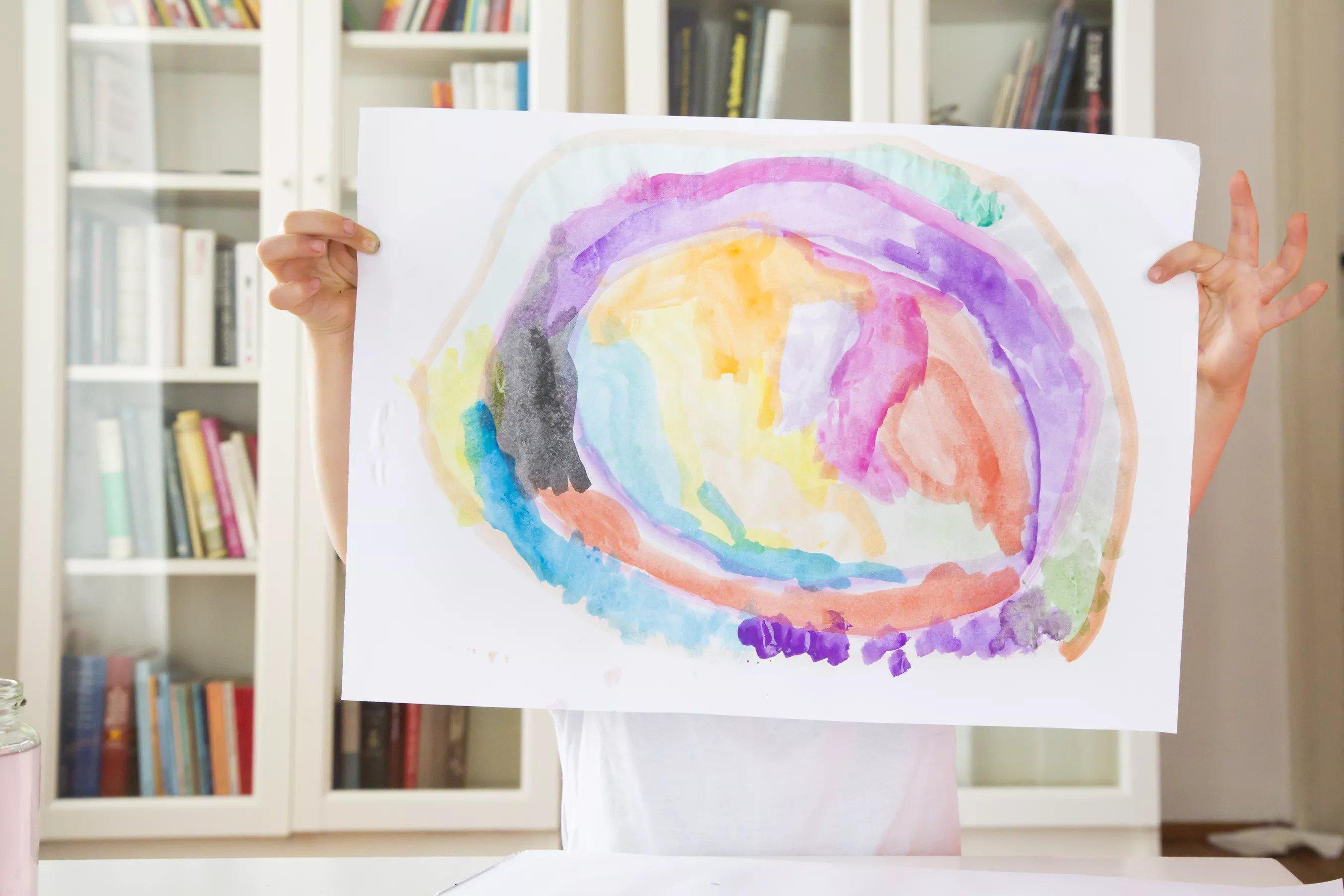 Encadrer les œuvres d'art des enfants