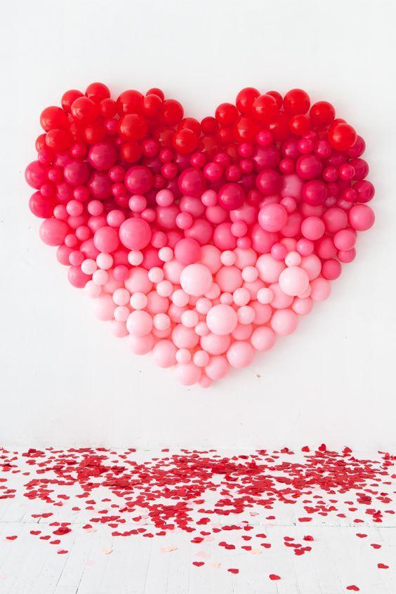Fabriquer des ballons en forme de cœur