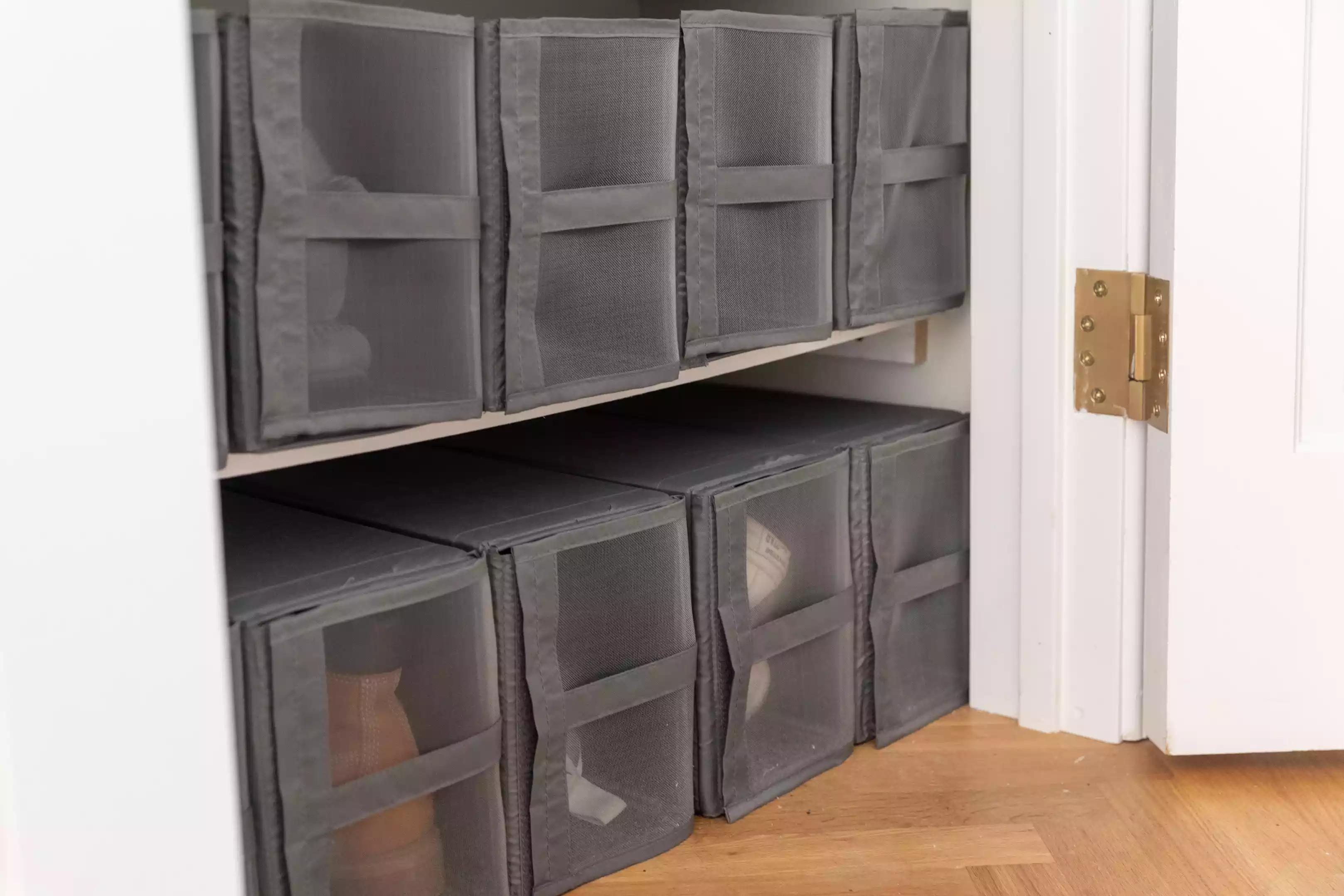 Incorporer des boîtes à chaussures