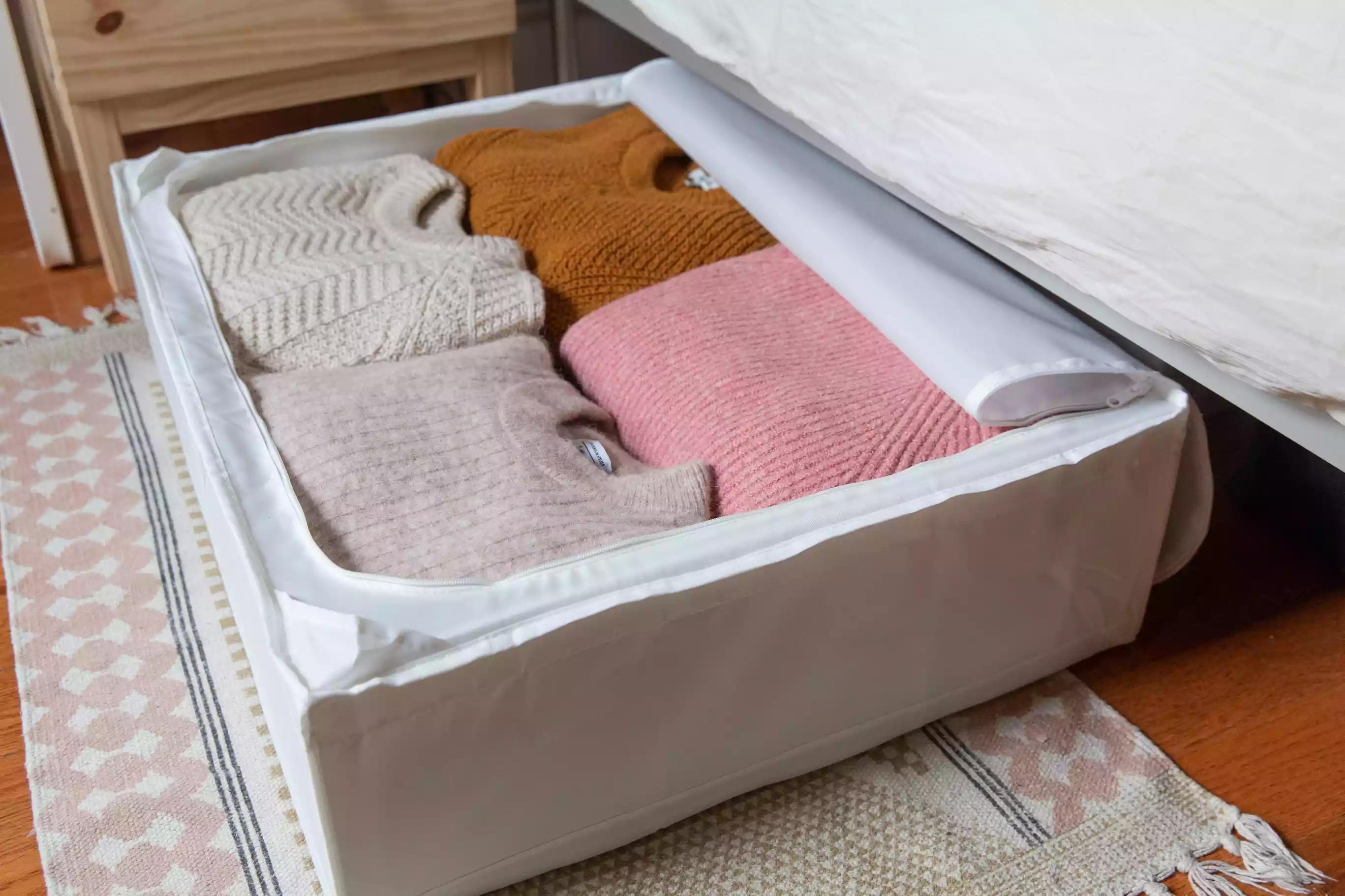 Organisez vos vêtements saisonniers