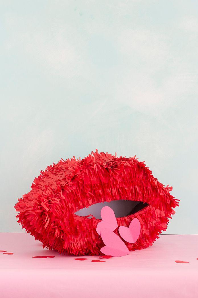 Personnalisez une piñata de la Saint-Valentin