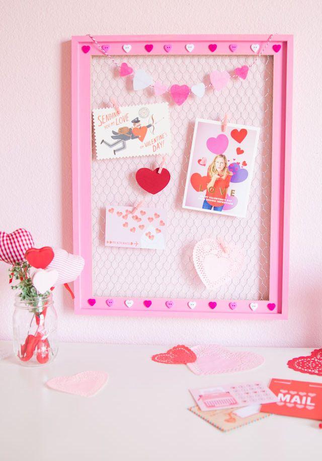 Affichage de la carte de la Saint-Valentin