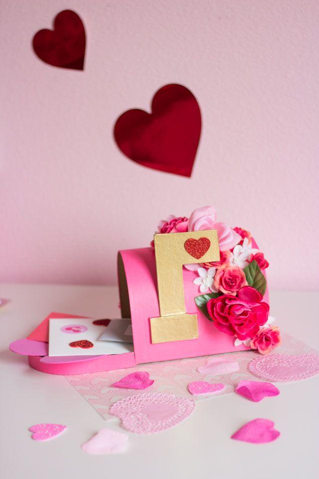 Boîte aux lettres florale