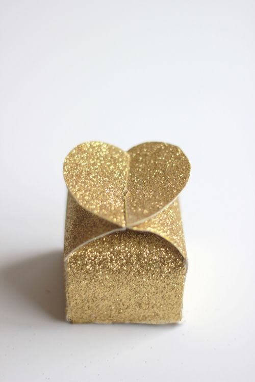Boîtes en forme de coeur