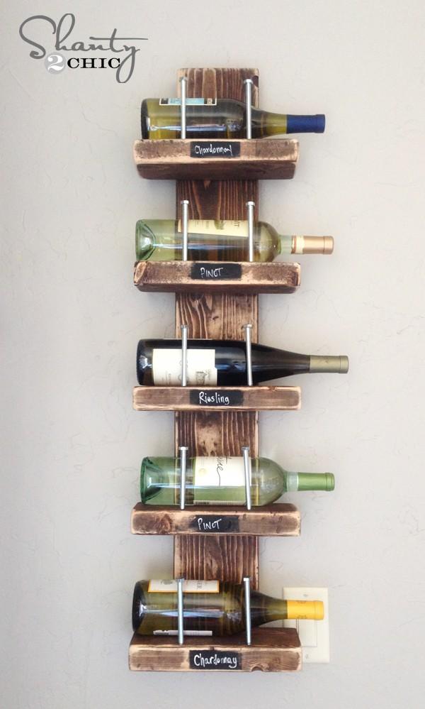 Bricolage Casier à vin vintage