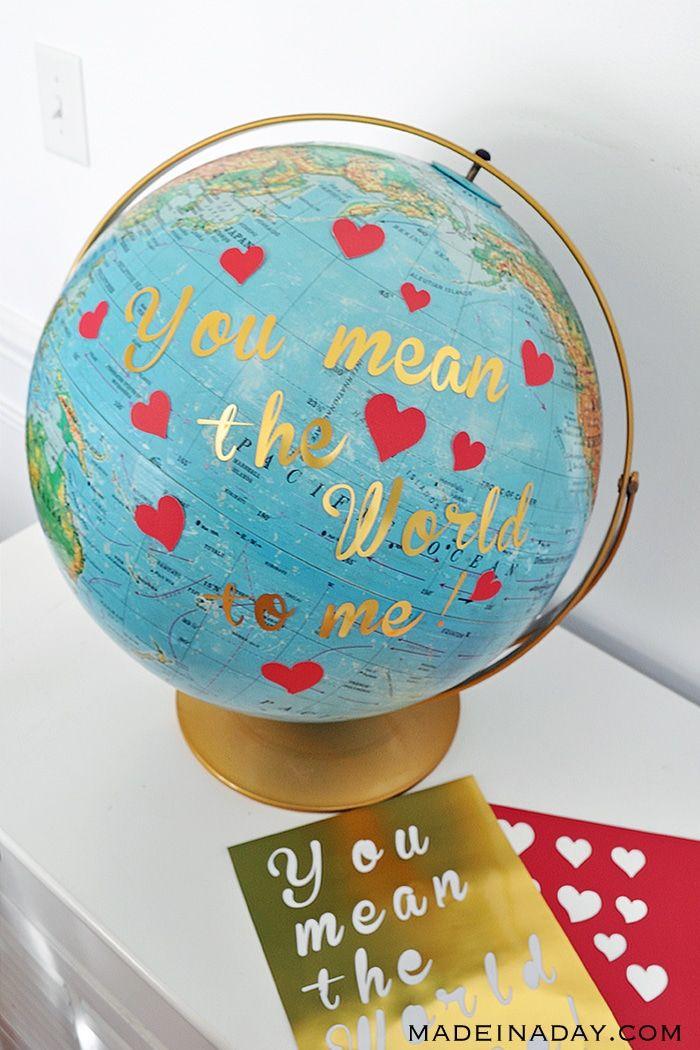 Globe Saint-Valentin