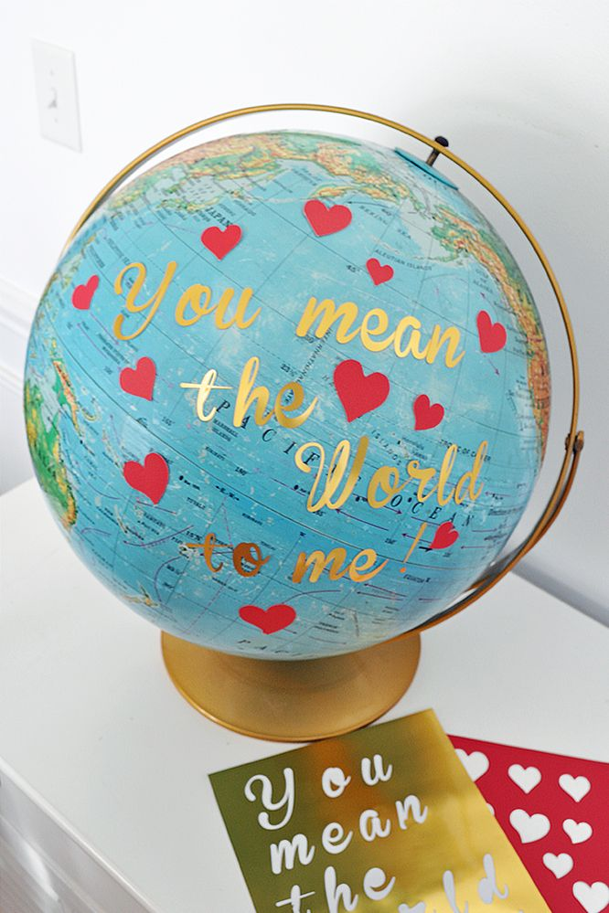 Globe terrestre You Mean the World to Me