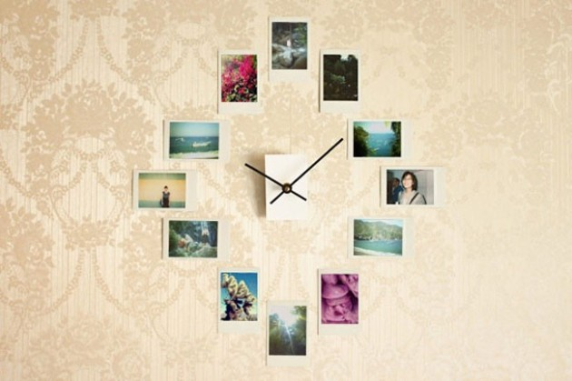 Horloge murale DIY à partir de vos photos Instagram